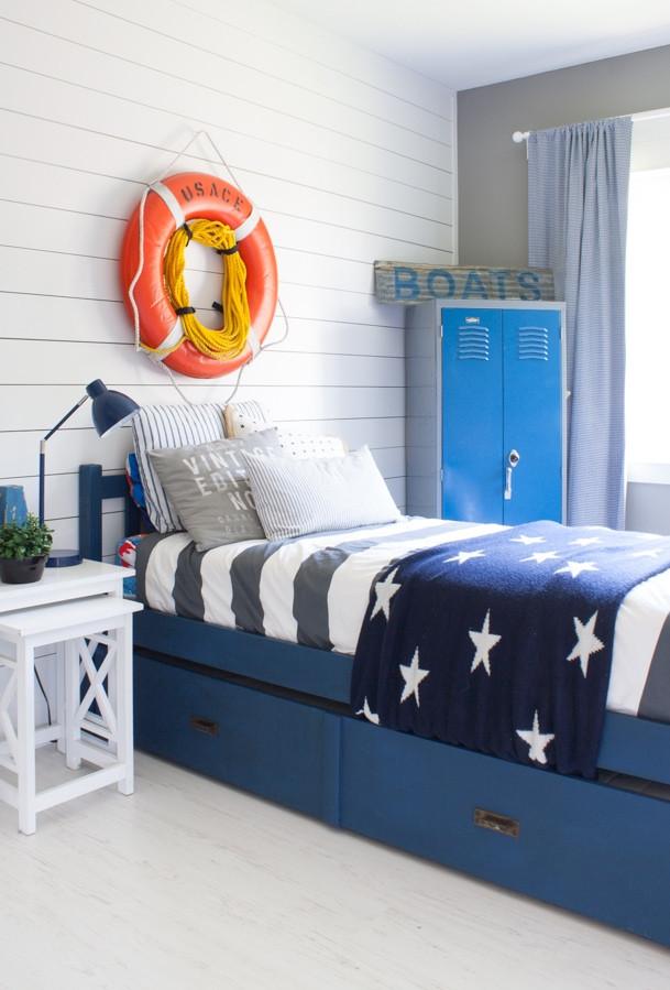 Boys Kids Room  Nautical Boy Room The Lilypad Cottage