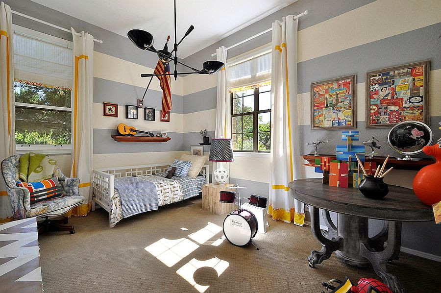 Boys Kids Room  25 Cool Kids' Bedrooms that Charm with Gorgeous Gray