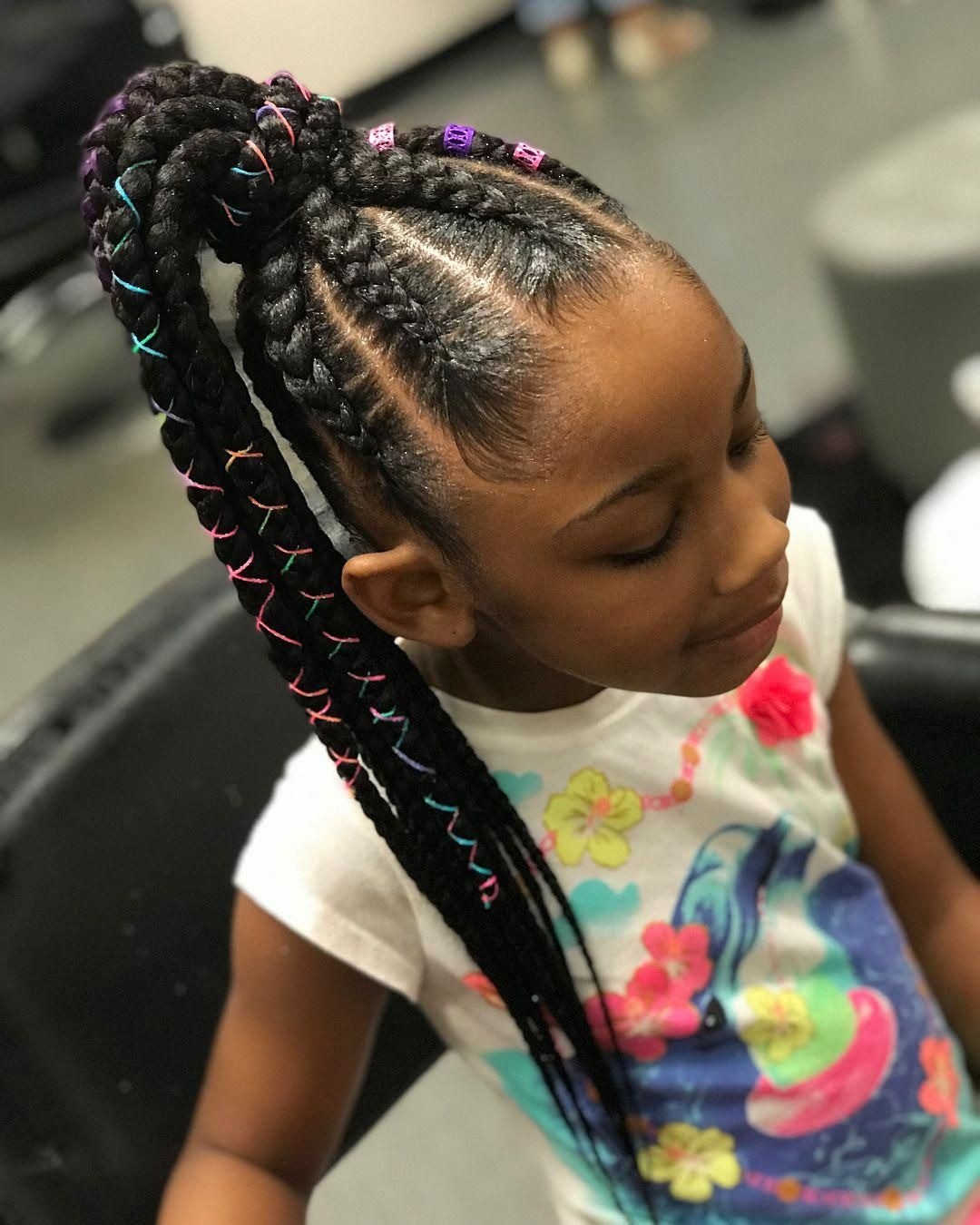 Braid Hairstyles For Little Girls  35 Amazing Natural Hairstyles for Little Black Girls