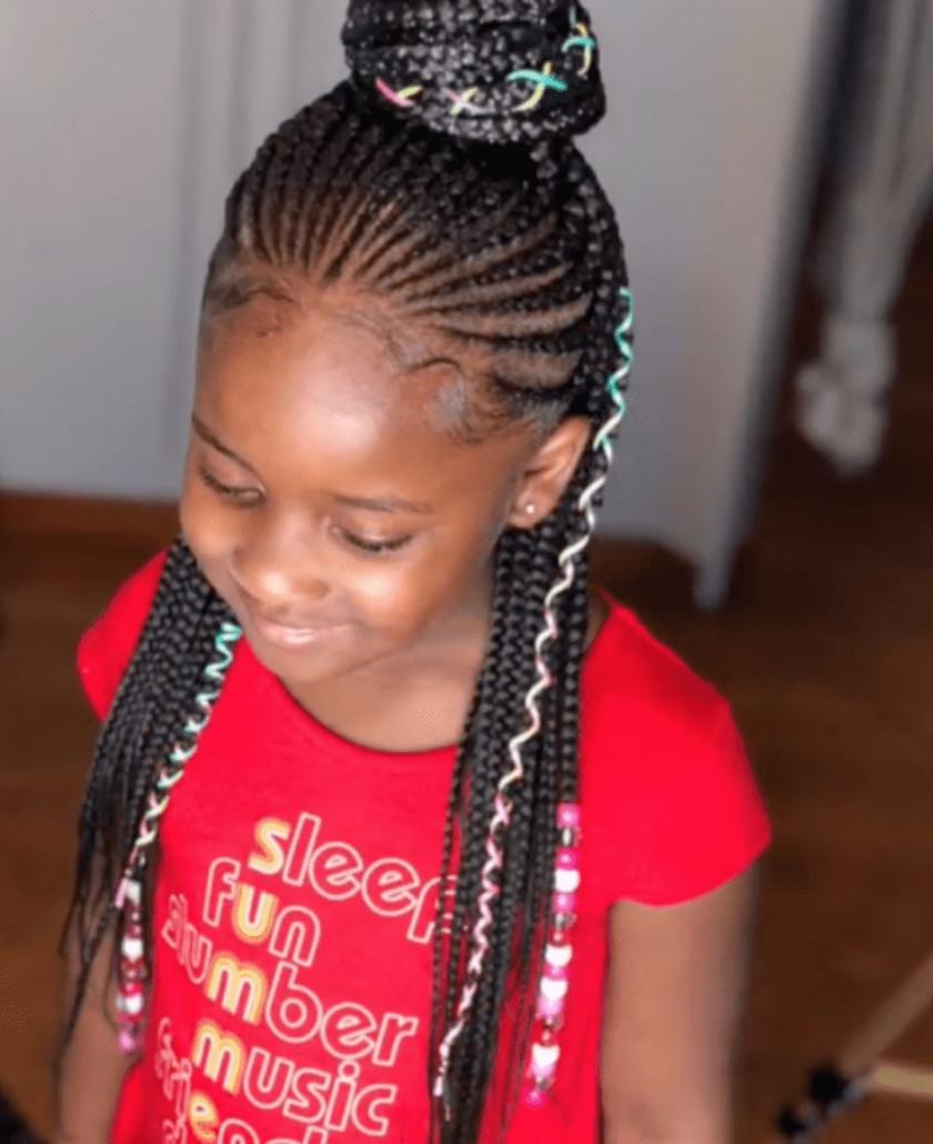 Braid Hairstyles For Little Girls  43 Braid Hairstyles For Little Girls With Natural Hair