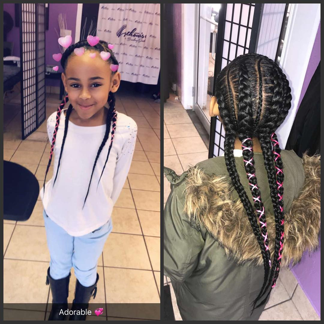 Braid Hairstyles For Little Girls  Awesome Braided Hairstyles For Little Girls Loud In Naija