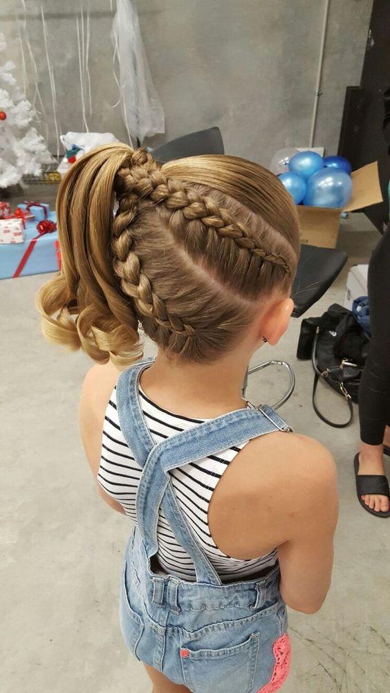 Braid Hairstyles For Little Girls  30 Cute Braided Hairstyles for Little Girls