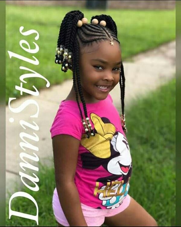 Braid Hairstyles For Little Girls  133 Gorgeous Braided Hairstyles For Little Girls