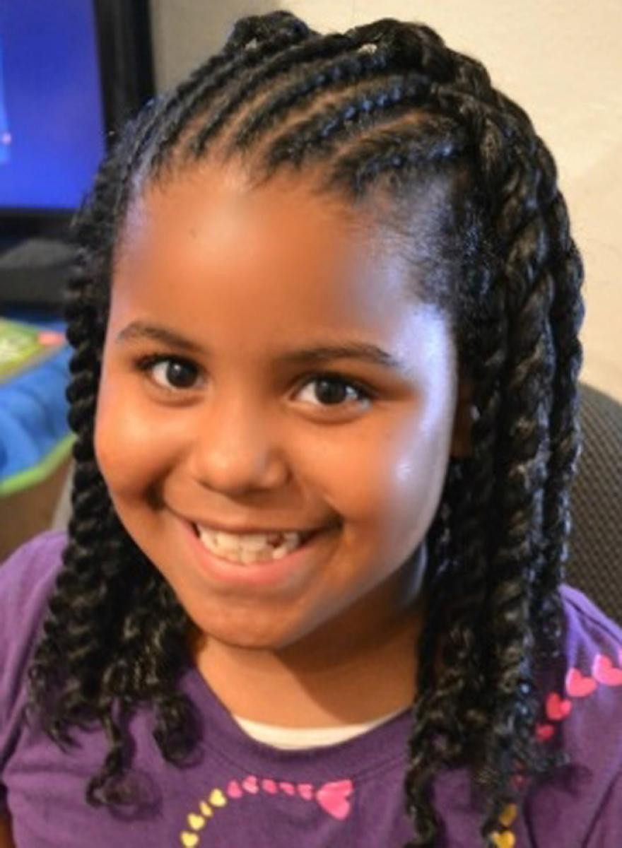Braid Hairstyles For Little Girls  64 Cool Braided Hairstyles for Little Black Girls – HAIRSTYLES