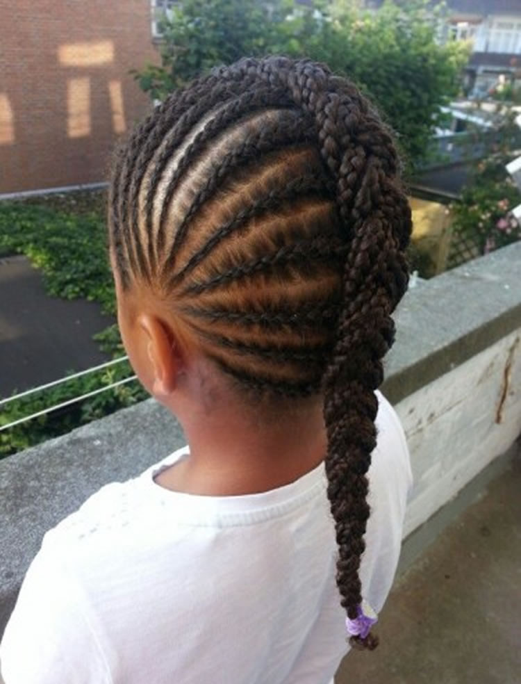 Braid Hairstyles For Little Girls  64 Cool Braided Hairstyles for Little Black Girls – Page 3