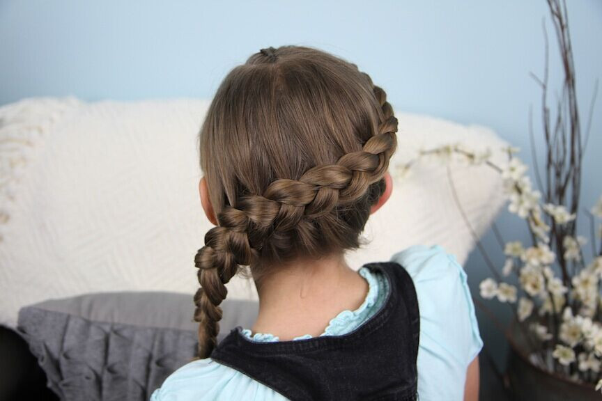 Braided Hairstyle Games  20 Sweet and Easy Braided Hairstyles for Girls
