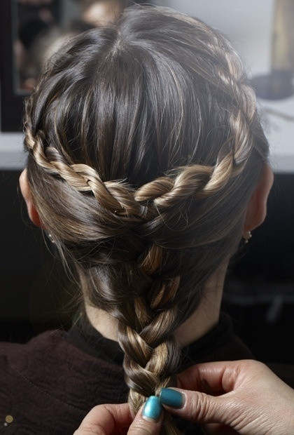 Braided Hairstyle Games  17 Best images about Fight Hair on Pinterest