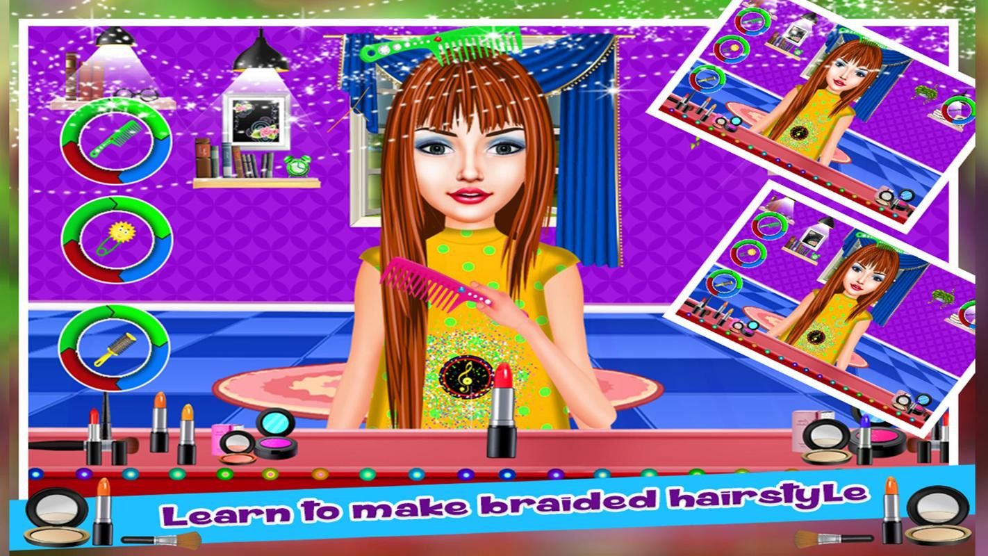 Braided Hairstyle Games  Braided Hairstyles Salon Girls Games for Android APK