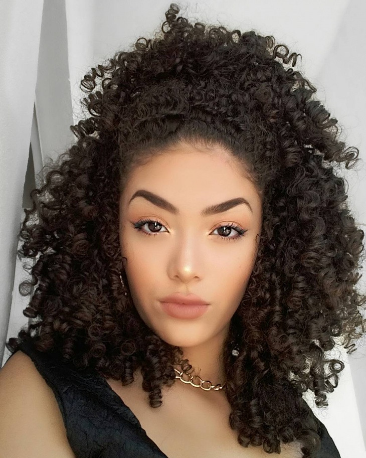 Braids And Curly Hairstyles  21 Curly Weave Haircut Ideas Designs