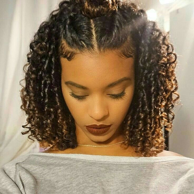 Braids And Curly Hairstyles  25 Worth Trying Curly Hairstyles with Braids Haircuts