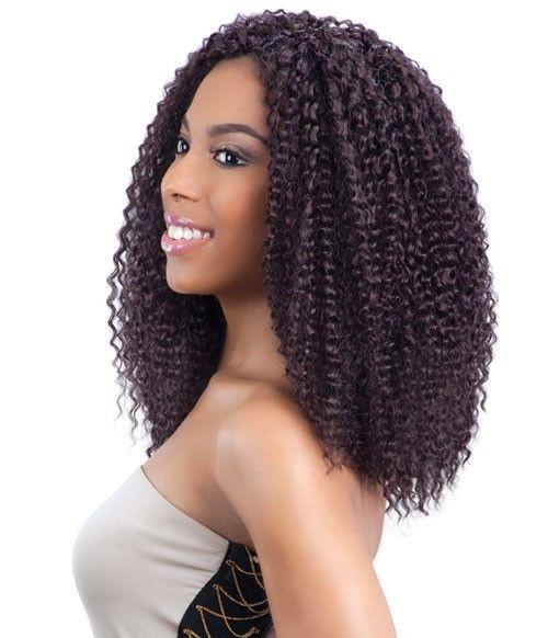 Brazilian Braid Crochet Hairstyles  MODEL MODEL HAIR CROCHET BRAIDS GLANCE BRAZILIAN CURL 12