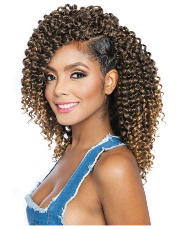 "Brazilian Braid Crochet Hairstyles  Afri Naptural Crochet Braid 2x Brazilian Water 10"" cb2x22"