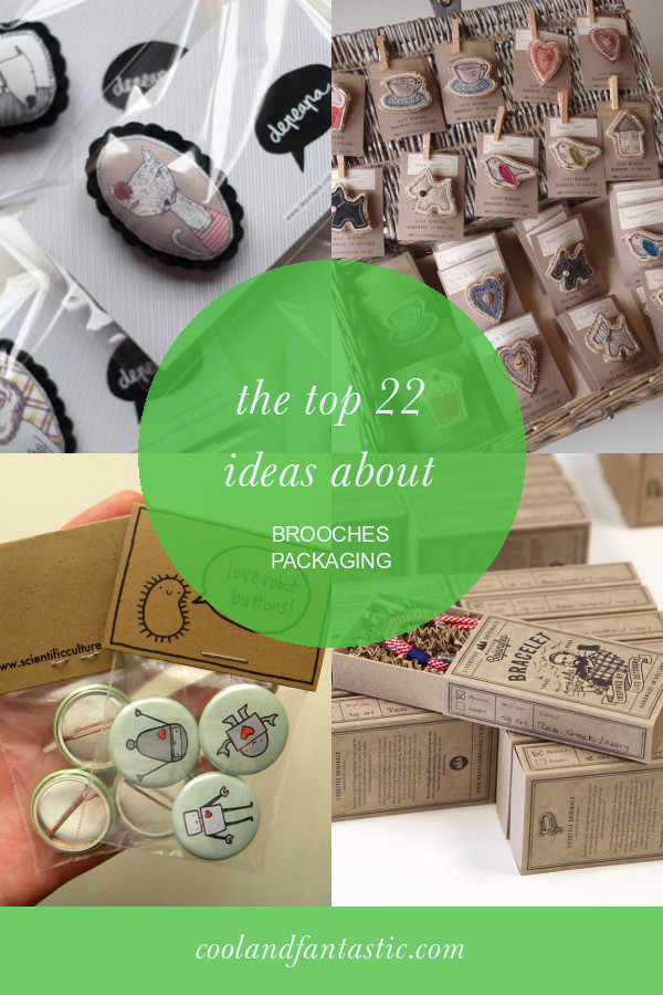 Brooches Packaging  The top 22 Ideas About Brooches Packaging Home Family