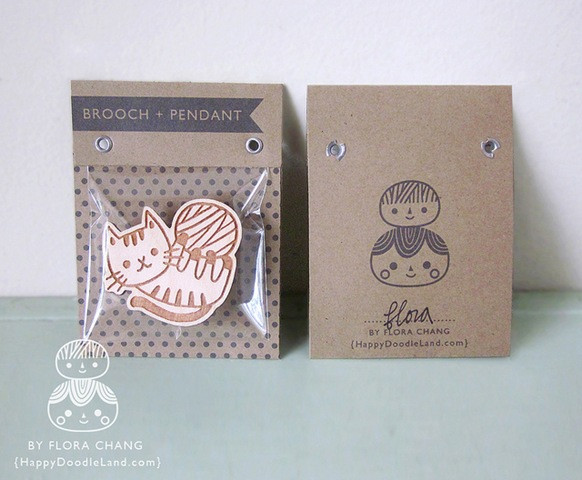 Brooches Packaging  Etsy Packaging Ideas