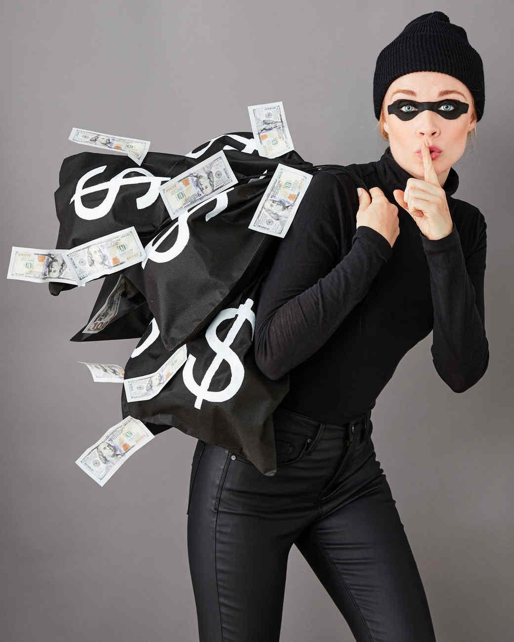 Burglar Costume DIY  Bank Robber Costume