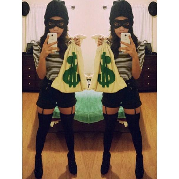 Burglar Costume DIY  Cheap DIY y Costumes