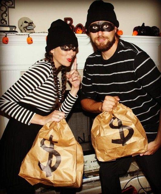 Burglar Costume DIY  Burglar costume Costumes and Last minute on Pinterest