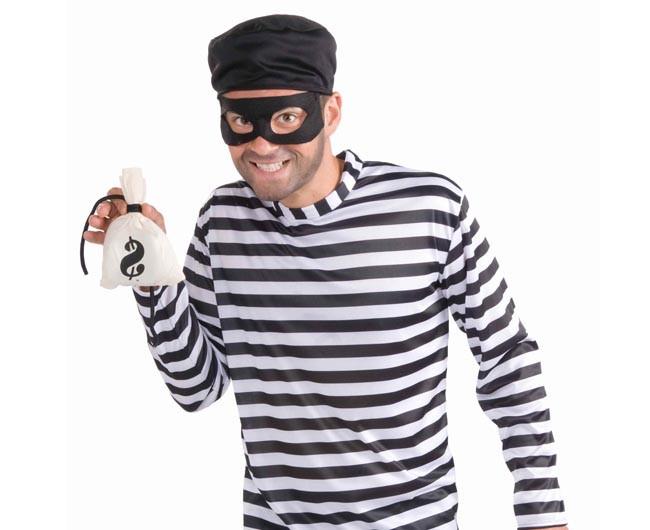 Burglar Costume DIY  DIY