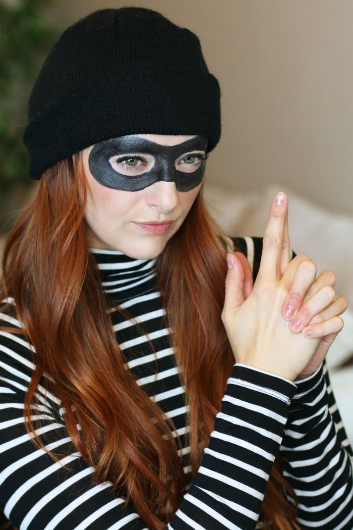 Burglar Costume DIY  10 Easy & Modest Halloween Costumes Virtuous Prom