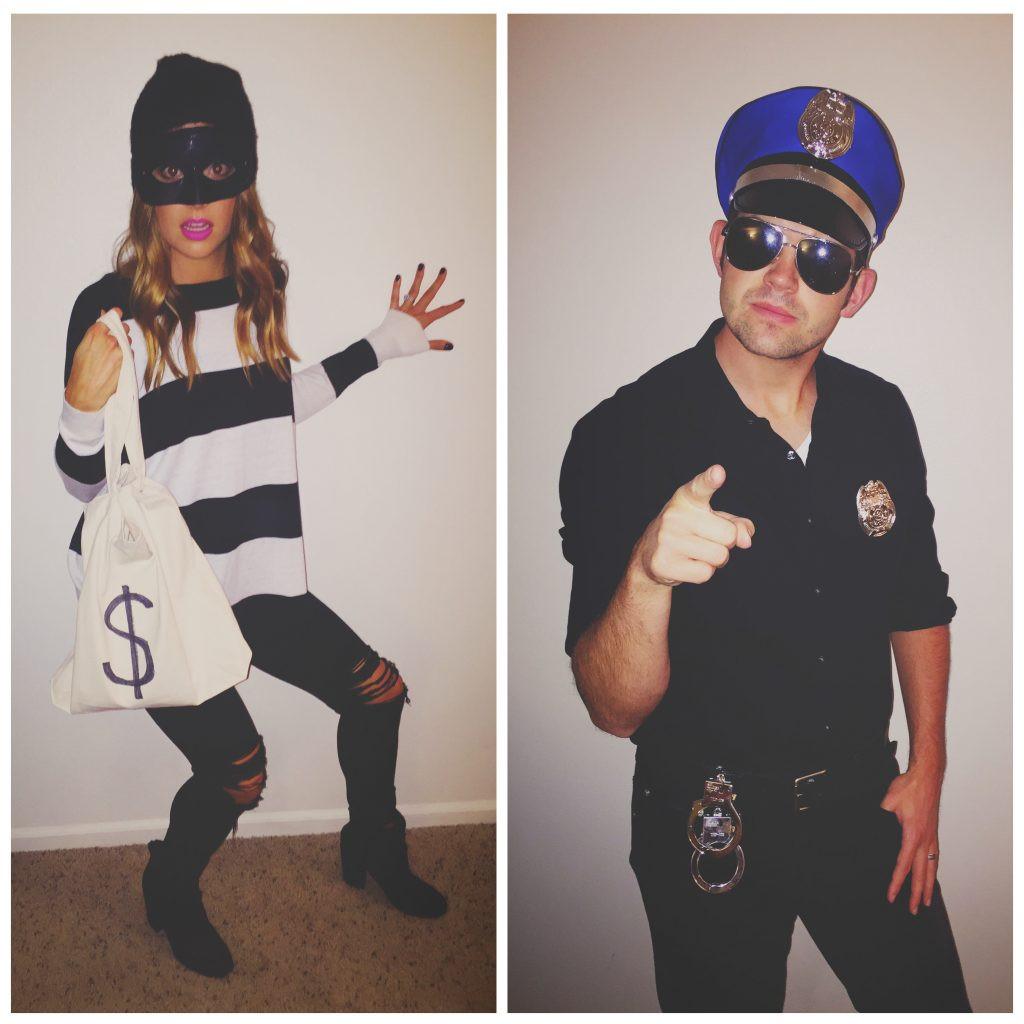 Burglar Costume DIY  9 12 15 The Styled Press