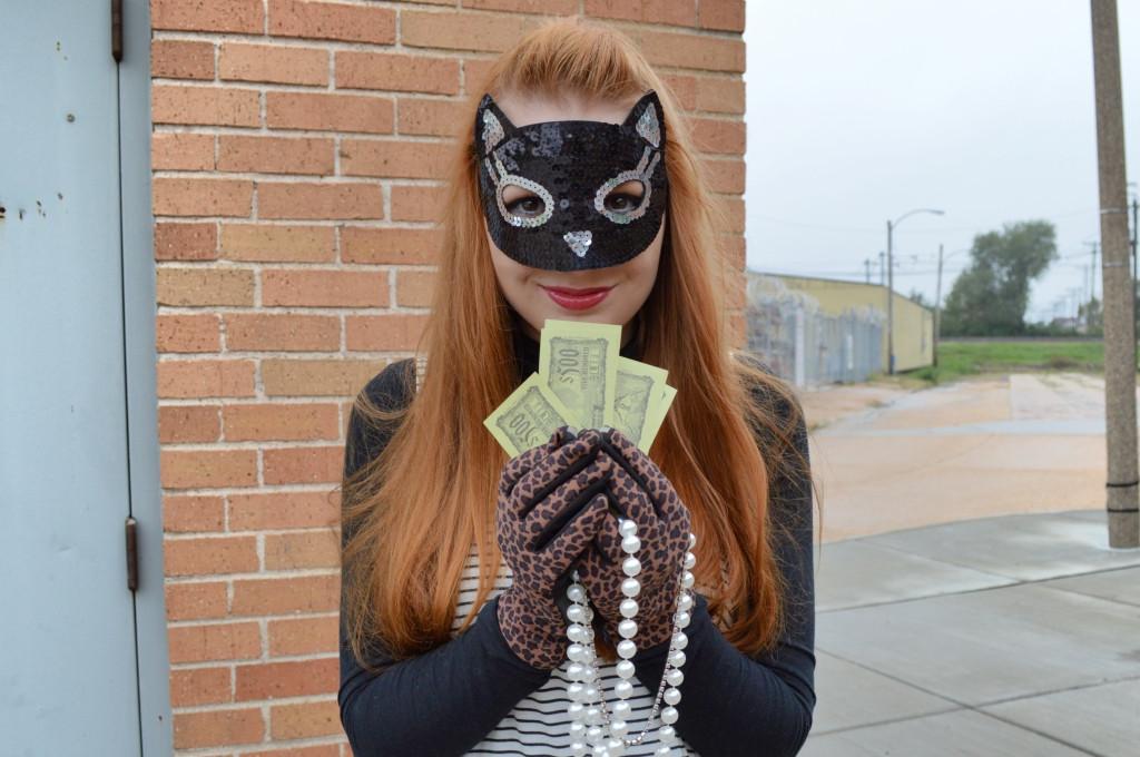 Burglar Costume DIY  The Cat's Meow