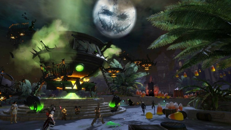Candy Corn Gw2  Guild Wars 2 Gets Halloween Update And Gross Candy Corn