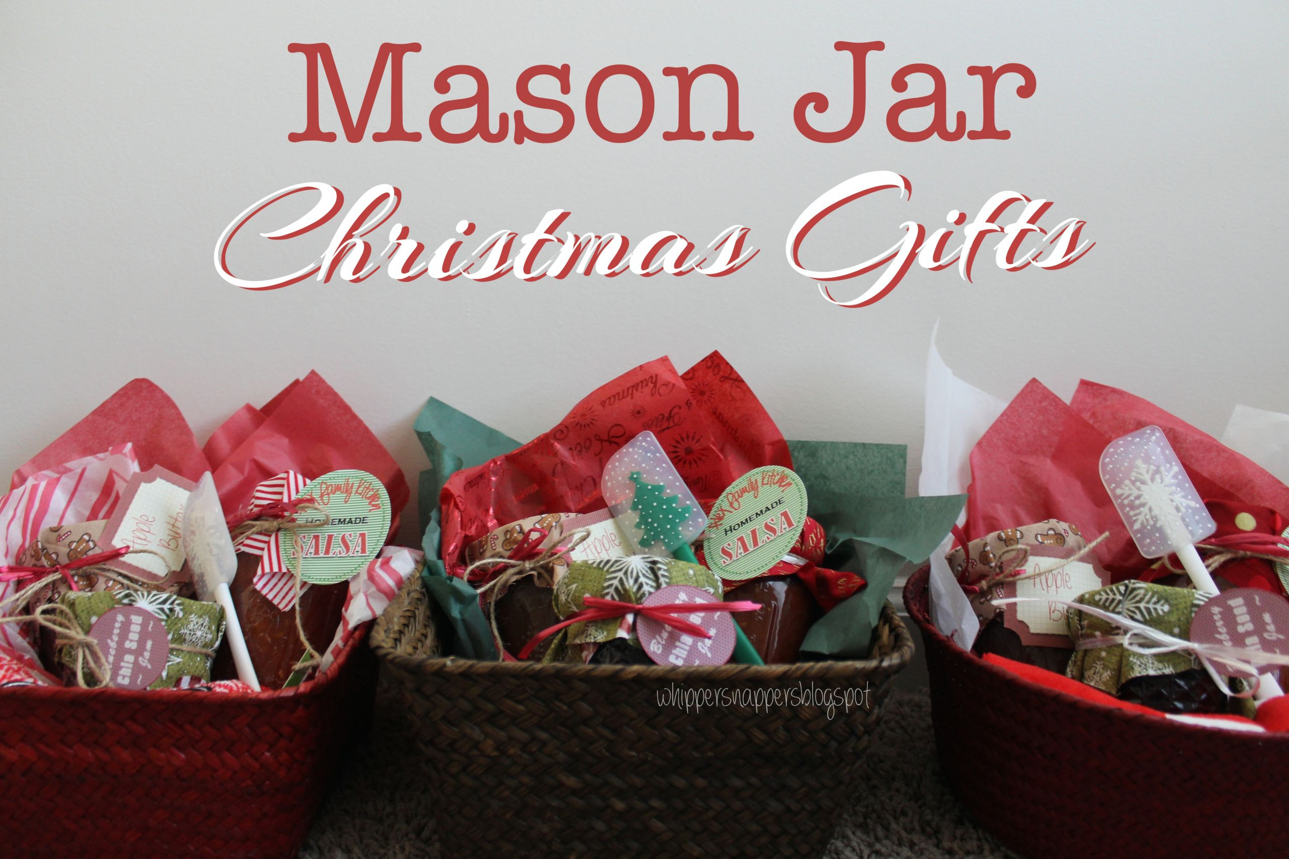 Canning Gift Ideas Holidays  Homemade Canning Jar Gift Ideas