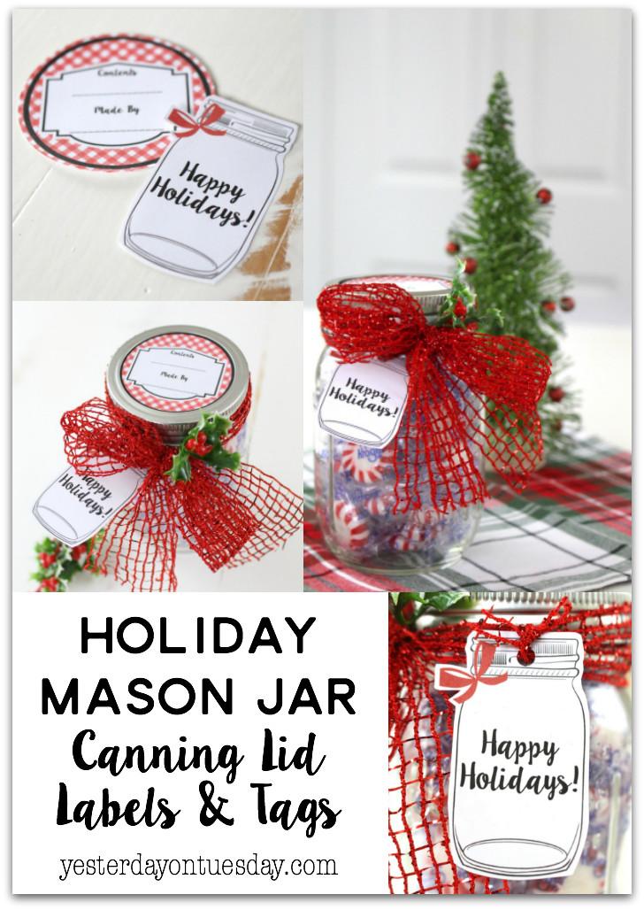 Canning Gift Ideas Holidays  Holiday Mason Jar