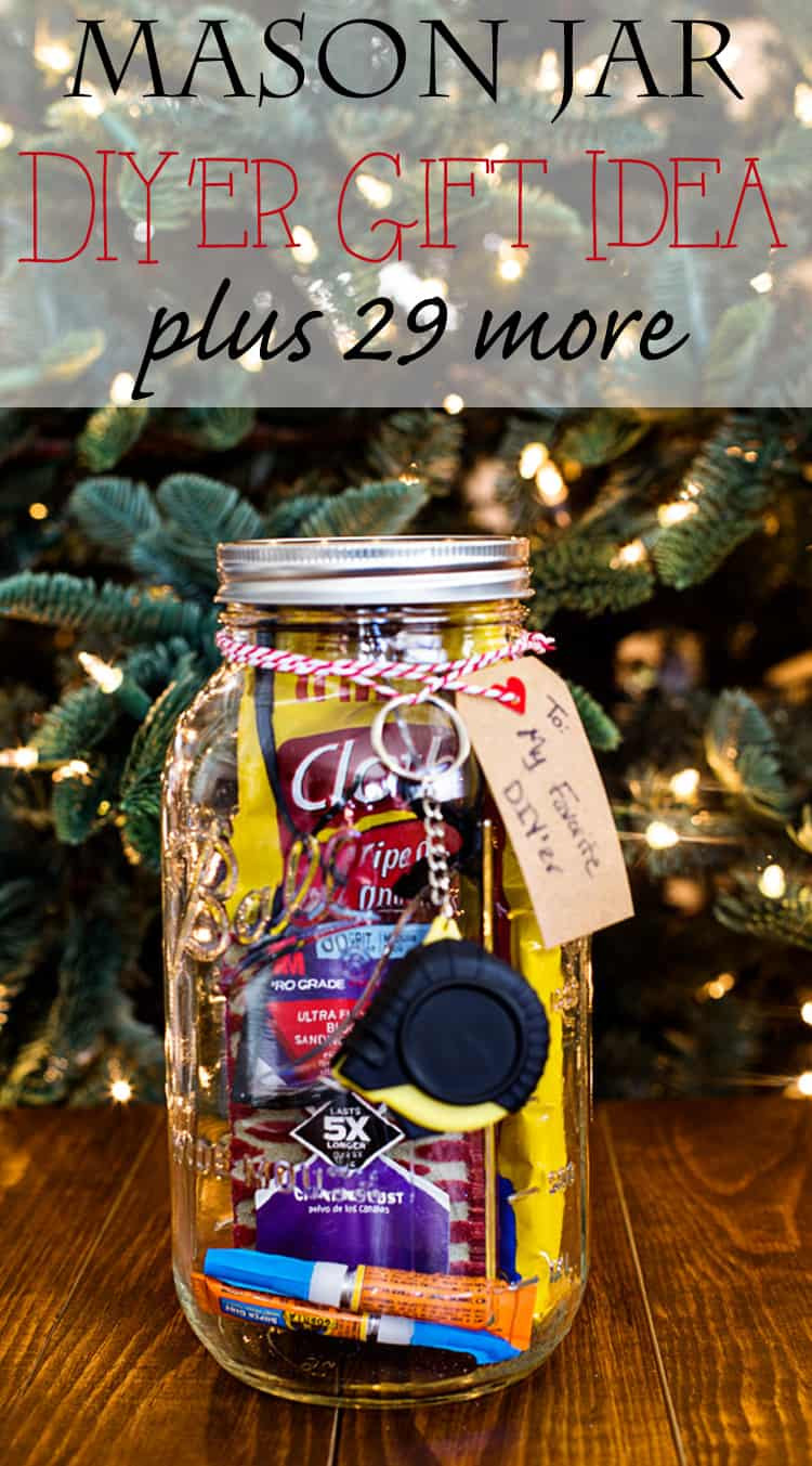 Canning Gift Ideas Holidays  Mason Jar Gift for the DIY Lover Domestically Speaking