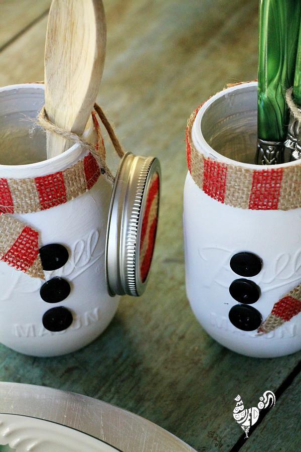 Canning Gift Ideas Holidays  Mason jar themed Christmas t ideas Debbiedoos