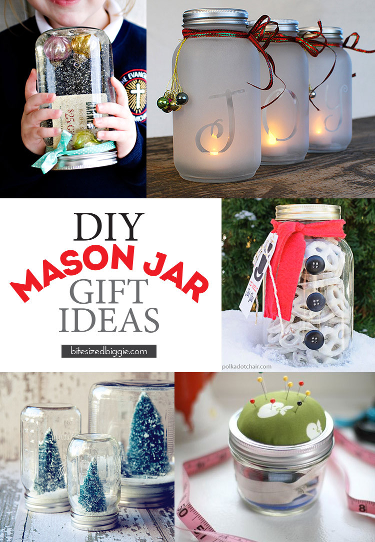 Canning Gift Ideas Holidays  Mason Jar Holiday Gift Ideas