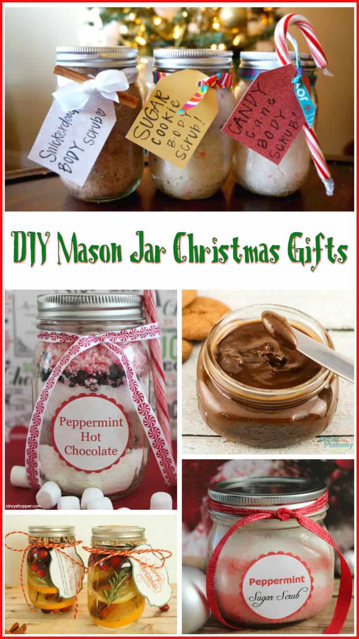 Canning Gift Ideas Holidays  10 DIY Mason Jar Christmas Gift Ideas 5 Minutes for Mom