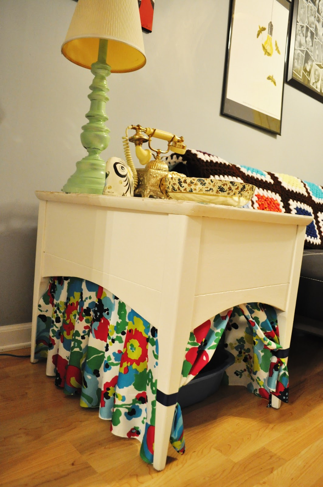 Cat Litter Box DIY  beetlebailey Kitty Litter Box Table DIY