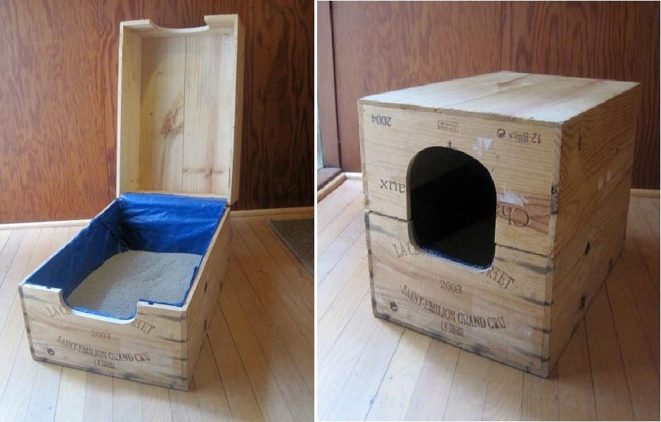 Cat Litter Box DIY  Top 10 Ingenious Ways to Hide Your Cat s Litter Box