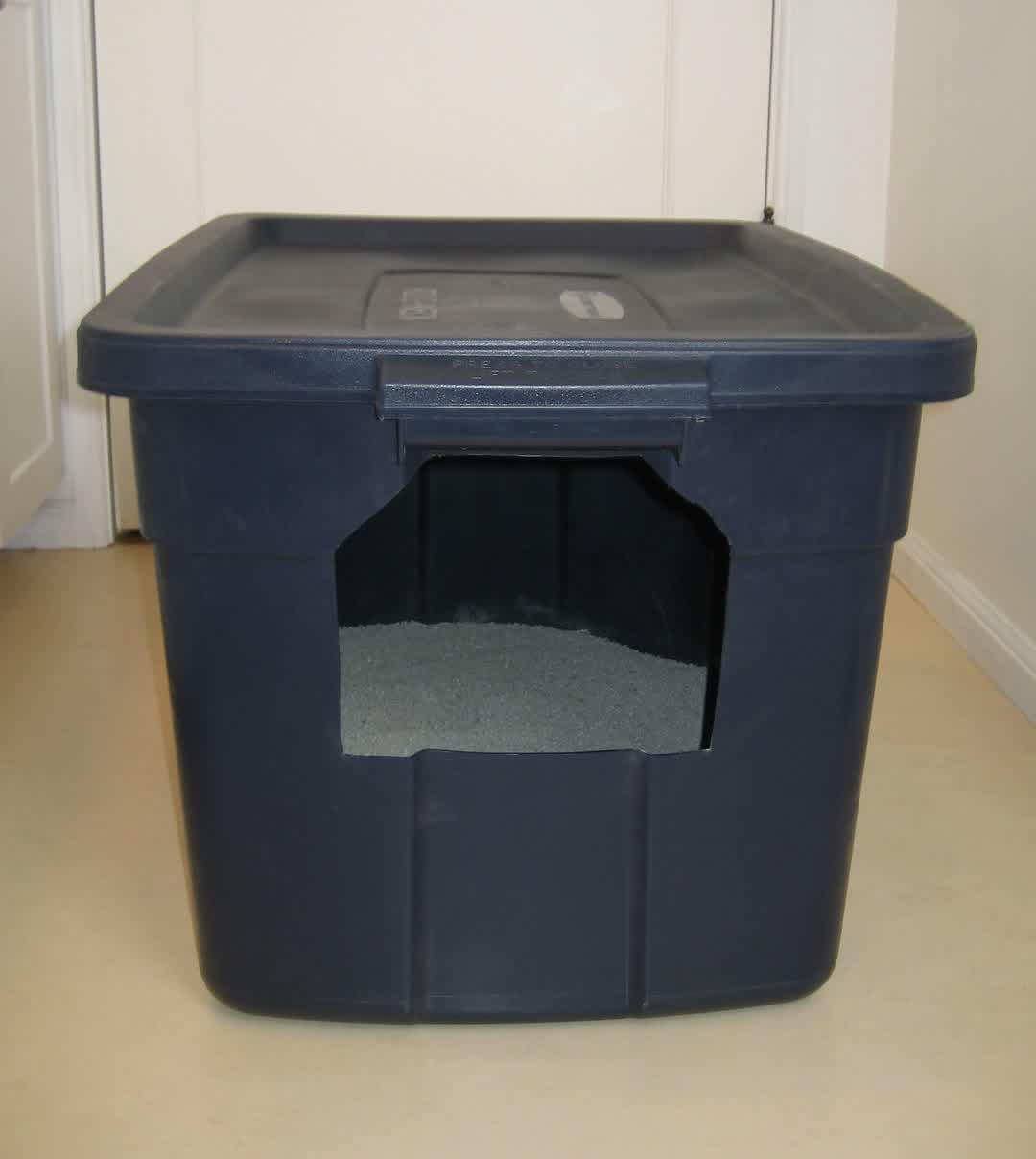Cat Litter Box DIY  An Easy DIY Cat Litter Box Ideas – HomesFeed