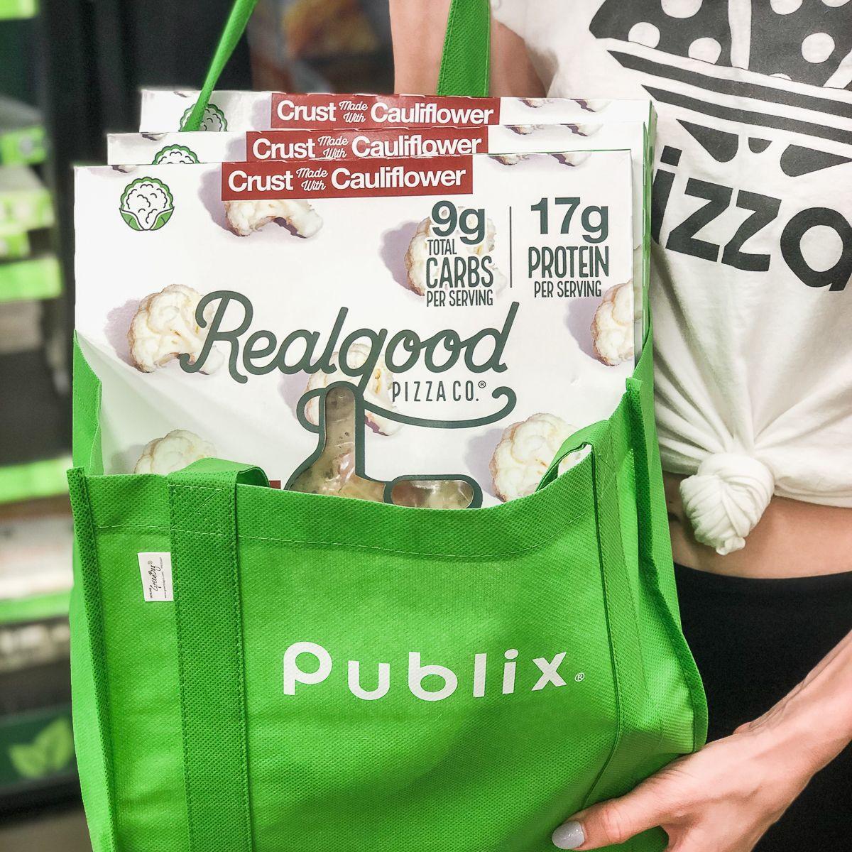 Cauliflower Pizza Crust Publix  Available at Publix in 2020
