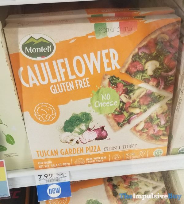 Cauliflower Pizza Crust Publix  SPOTTED 5 16 2019 The Impulsive Buy