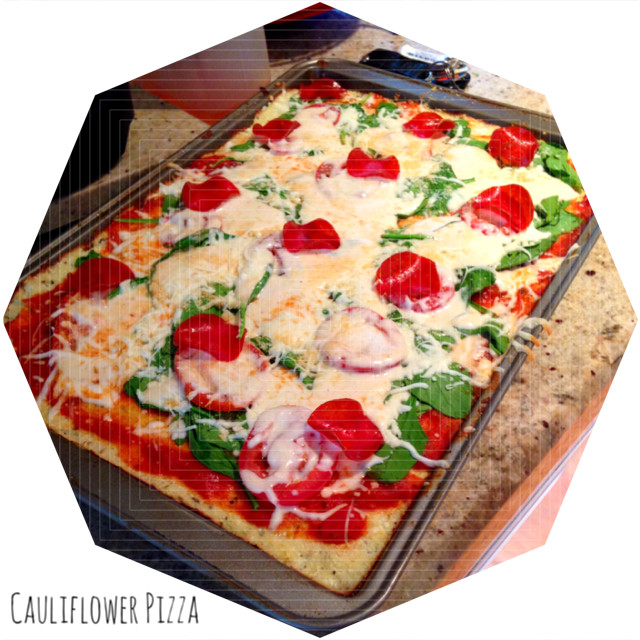 Cauliflower Pizza Crust Publix  Be ing The Ultimate Yogi Couples Edition Week 8