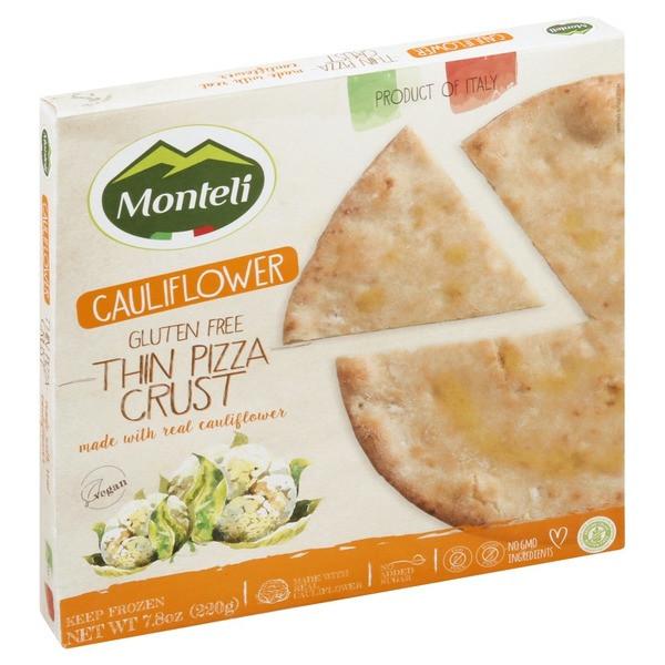 Cauliflower Pizza Crust Publix  Monteli Cauliflower Pizza Crust Nutrition NutritionWalls
