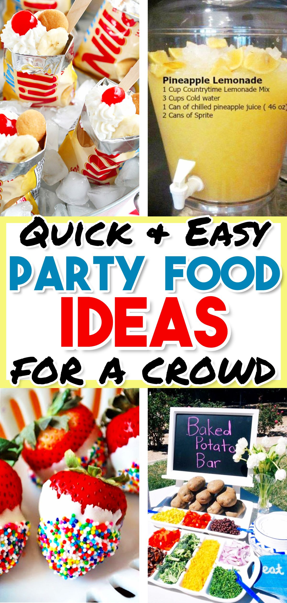 Cheap Summer Party Ideas  Food Ideas for a BBQ Party EASY Summer Cookout Foods We