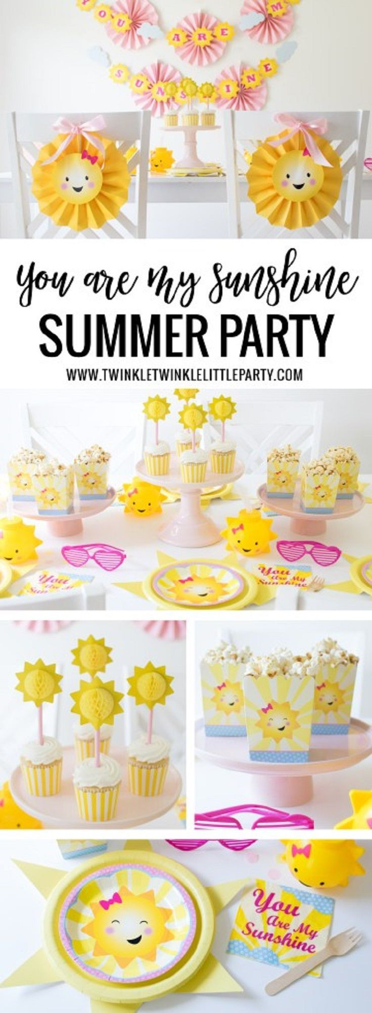 Cheap Summer Party Ideas  You are my Sunshine' Party – Summer Party Idea 11 Cheap