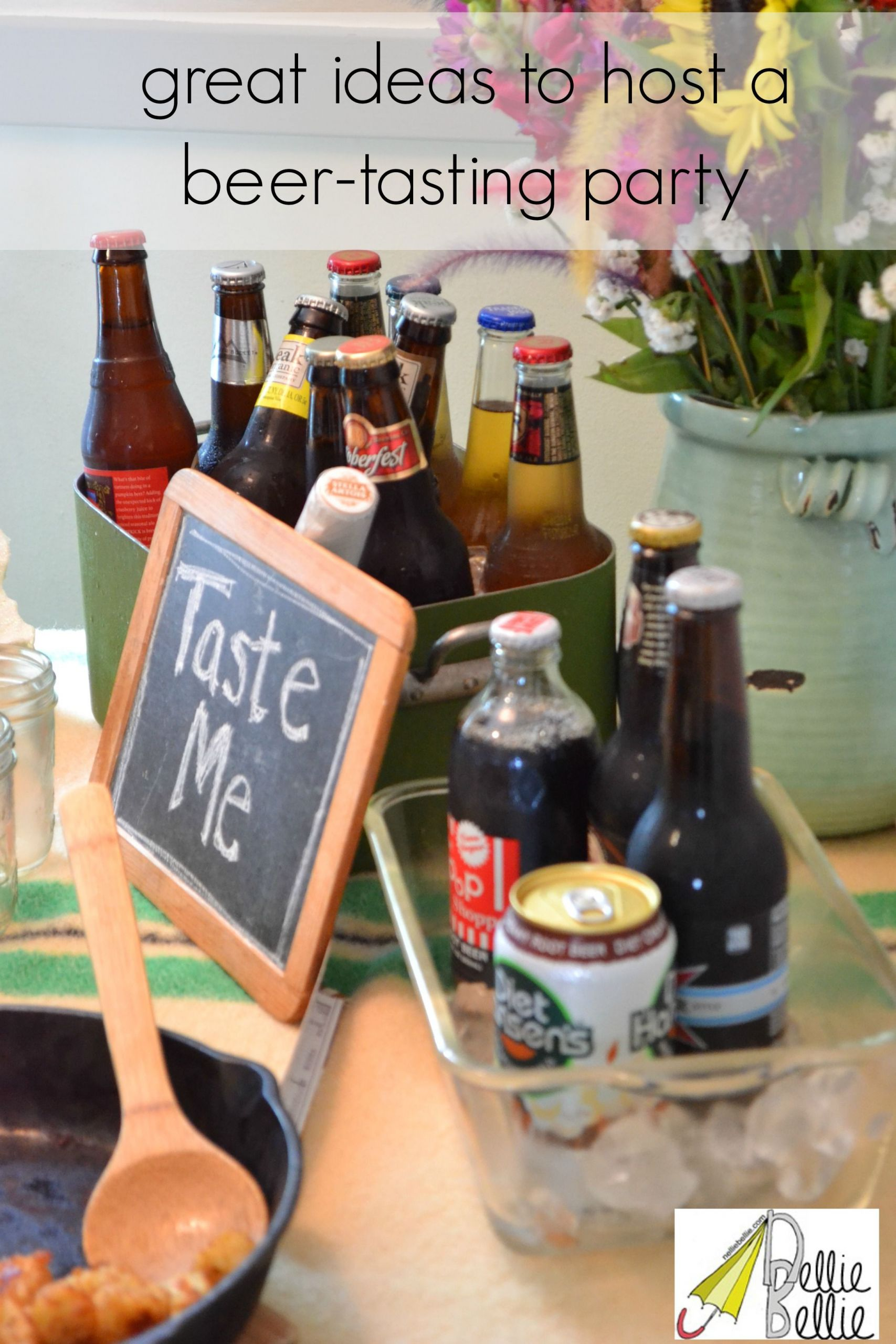 Cheap Summer Party Ideas  Great ideas for a beer tasting party A fun inexpensive