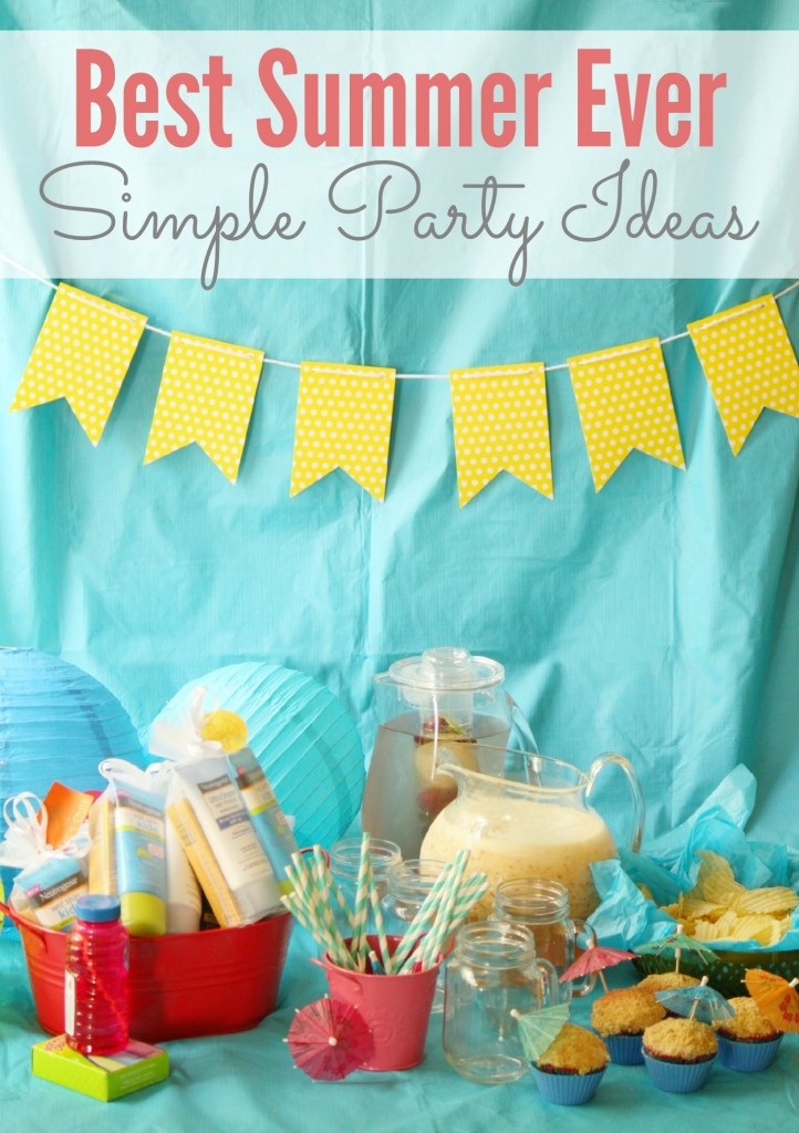 "Cheap Summer Party Ideas  Simple ""Best Summer Ever"" Party Ideas"