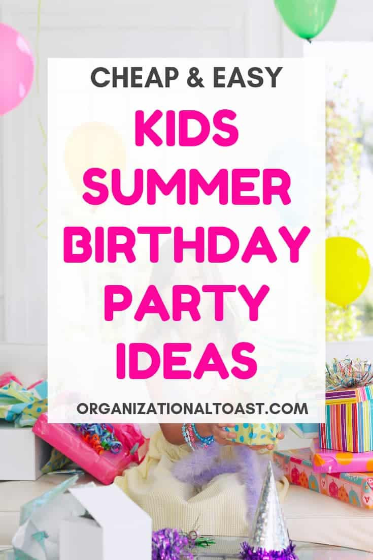Cheap Summer Party Ideas  How to Throw an Awesome and Cheap Summer Birthday Party