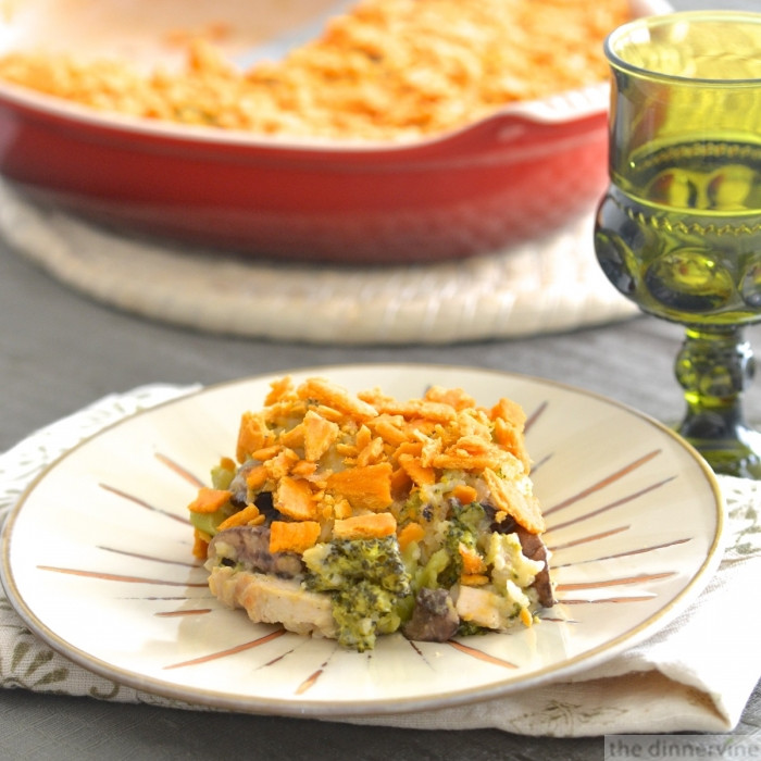 Chicken And Rice Casserole Without Soup  Chicken Rice And Broccoli Casserole Without Canned Soup