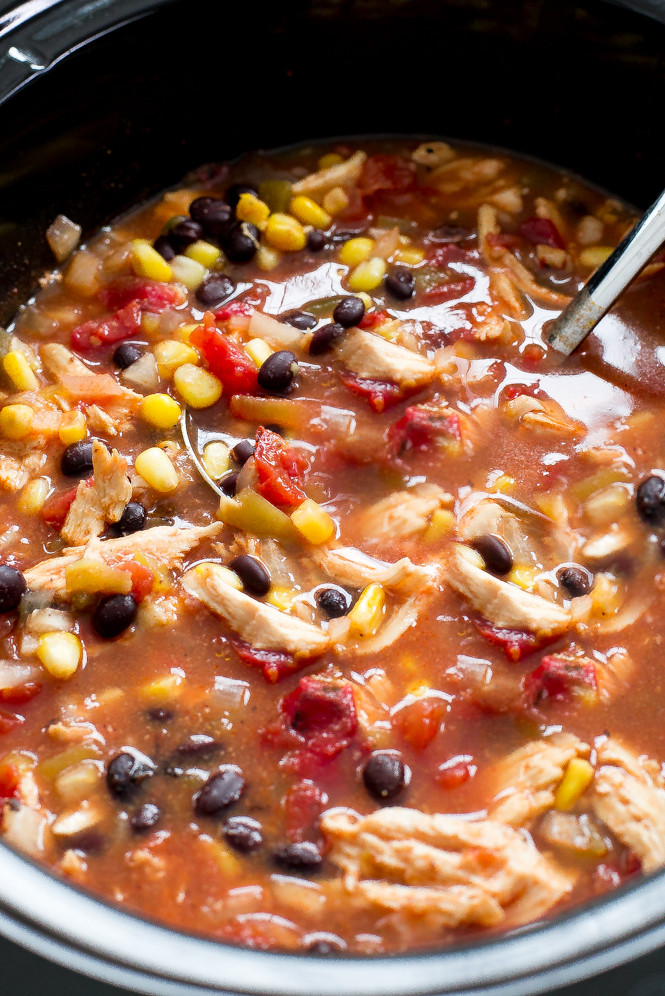 Chicken Enchilada Soup Chili'S  Slow Cooker Chicken Enchilada Soup Chef Savvy