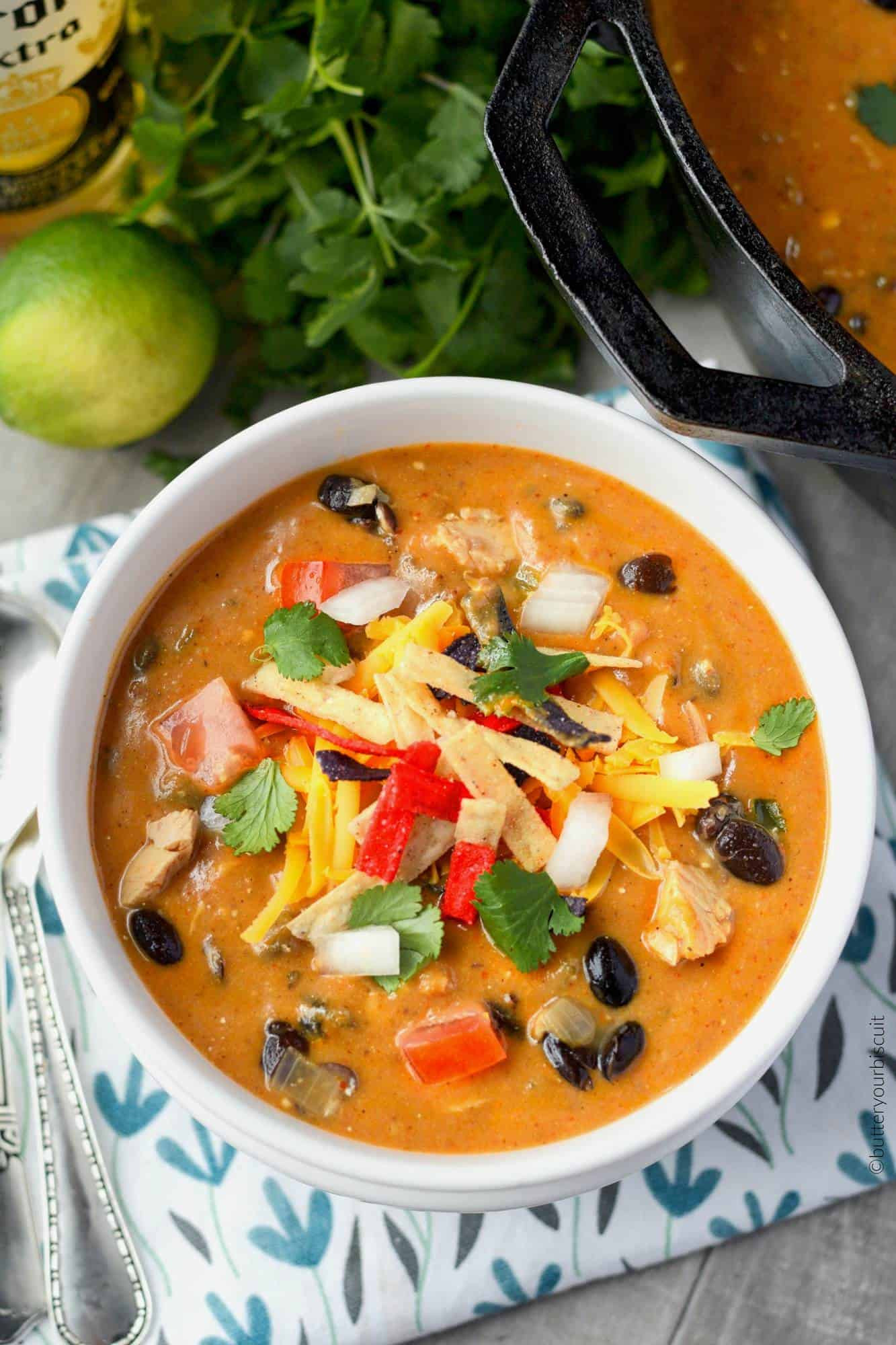 Chicken Enchilada Soup Chili'S  Chicken Enchilada Soup Recipe Butter Your Biscuit