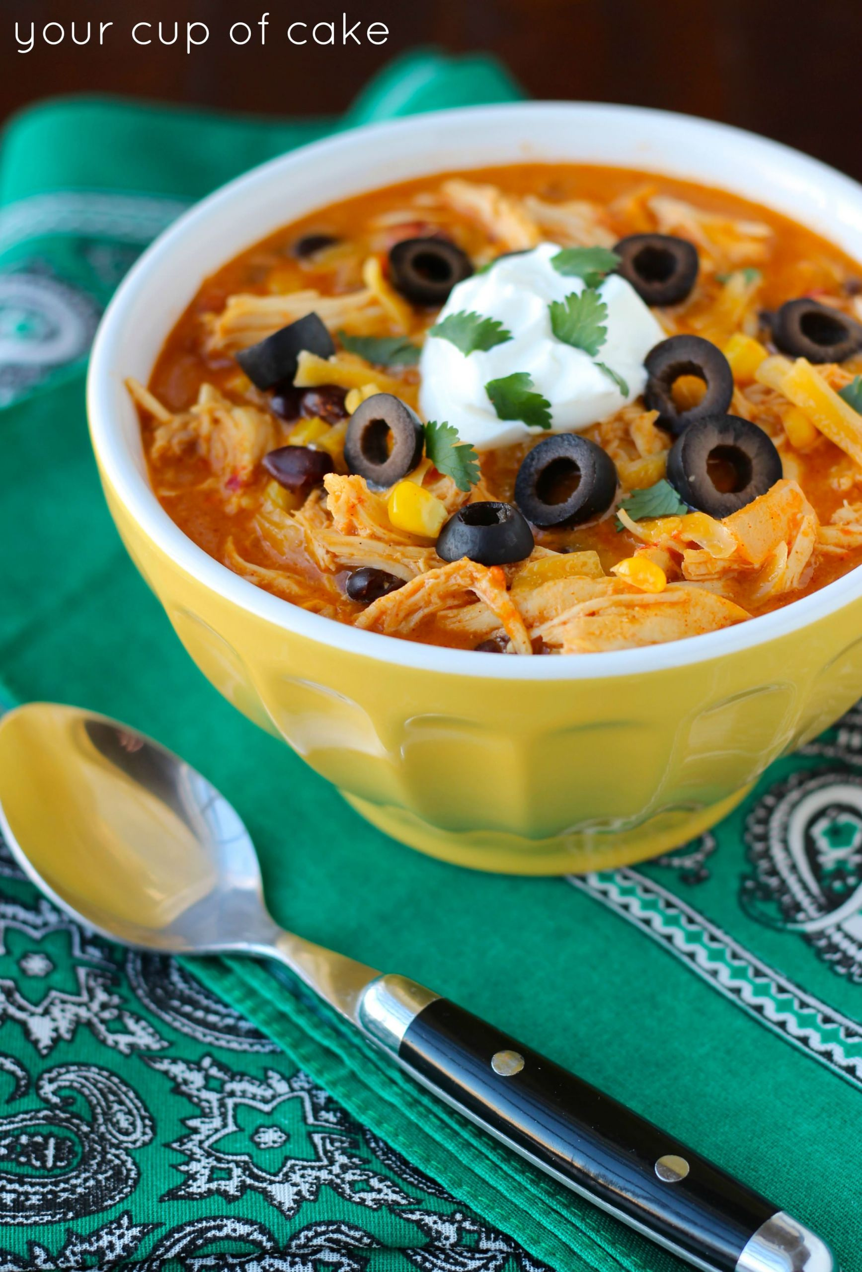 Chicken Enchilada Soup Chili'S  Crock Pot Chicken Enchilada Soup Your Cup of Cake