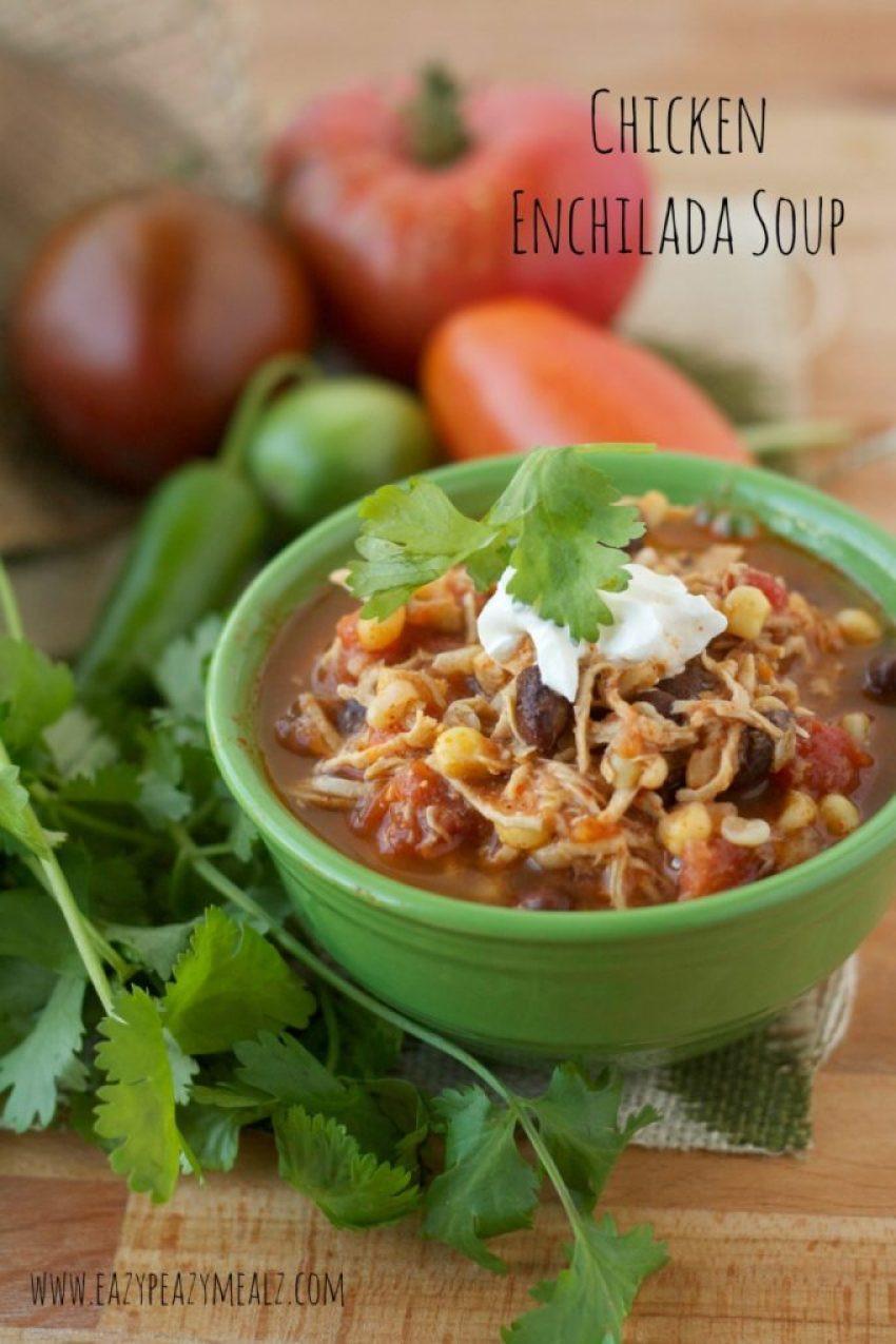 Chicken Enchilada Soup Chili'S  Chicken Enchilada Soup Easy Peasy Meals