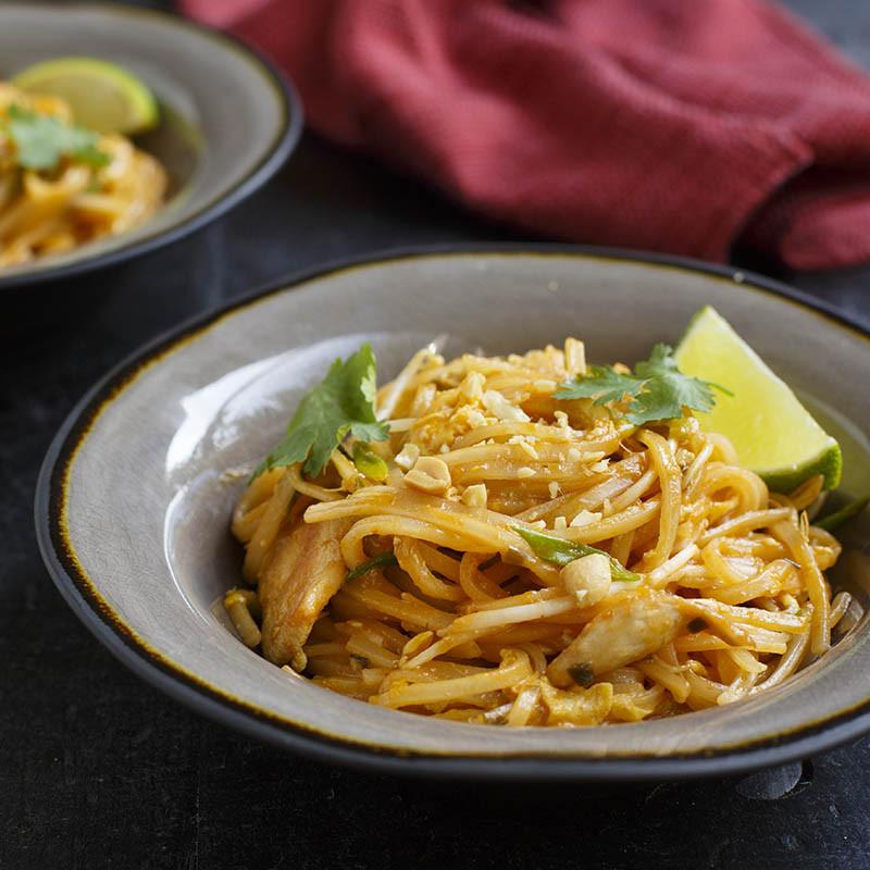 Chicken Pad Thai Calories Restaurant  Easy Chicken Pad Thai